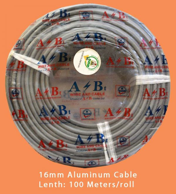16mm Aluminum Cable